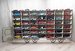 Полка-гараж, парковка для машинок