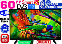 "ХИТ! Супер телевизоры Samsung SmartTV Slim 60"" 4K 3840x2160,LED, IPTV, Android, T2, WIFI, USB, КОРЕЯ"
