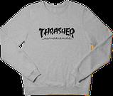 Свитшот реглан Thrasher (Premium-class) красный, фото 2