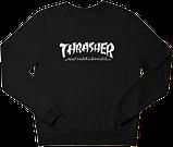 Свитшот реглан Thrasher (Premium-class) красный, фото 5