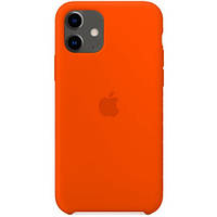 Силиконовый чехол - Silicone Case iPhone 11 Оранжевый (New Apricot)