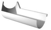 Металическая водосточная система Ruukki  Угол желоба 135 ° (внутренний)