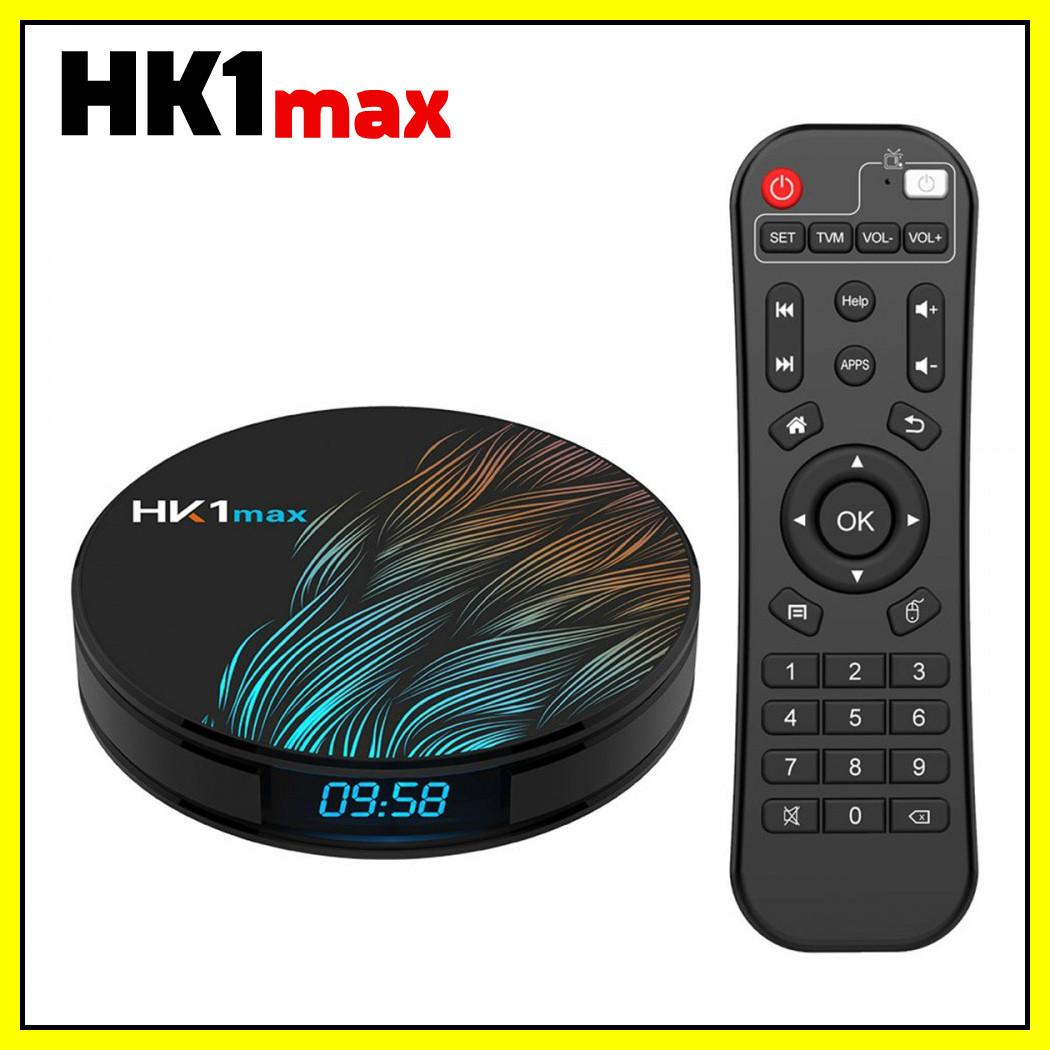 Медиаприставка медиаплеер Андройд приставка - HK1 MAX, Android 9.0, 4/32GB,Rockchip RK3328.