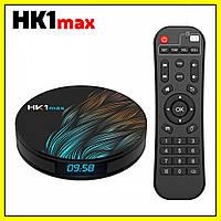 Медиаприставка медиаплеер Андройд приставка - HK1 MAX, Android 9.0, 4/32GB,Rockchip RK3328., фото 1