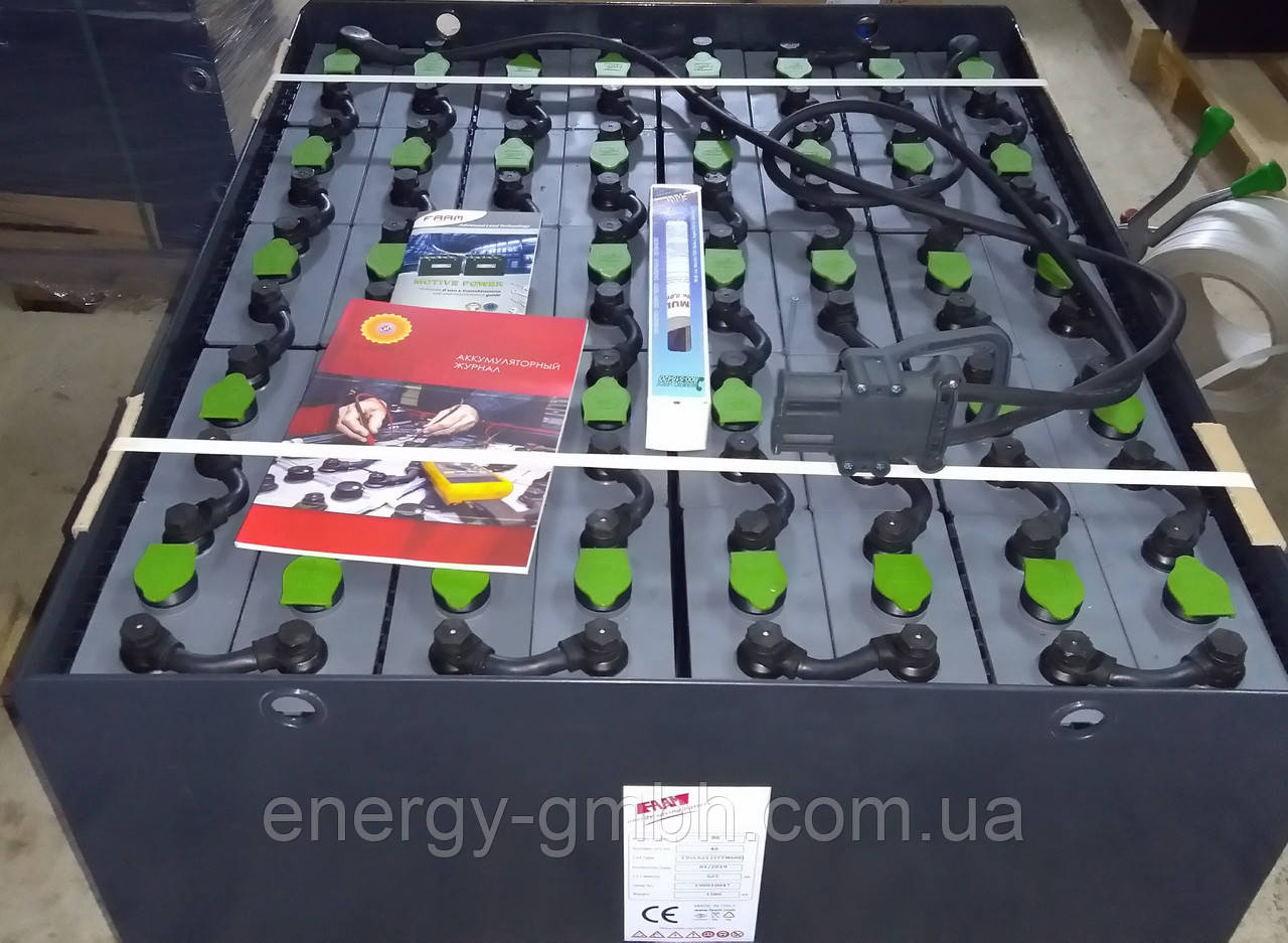 Тяговая батарея FAAM серия TTM, 5PzS625-80V