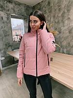 Демисезонная куртка К 0020 с 03 розовый