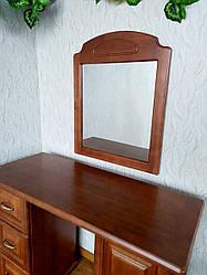 """Дзеркало в дерев'яній рамці """"Вероніка"""""""