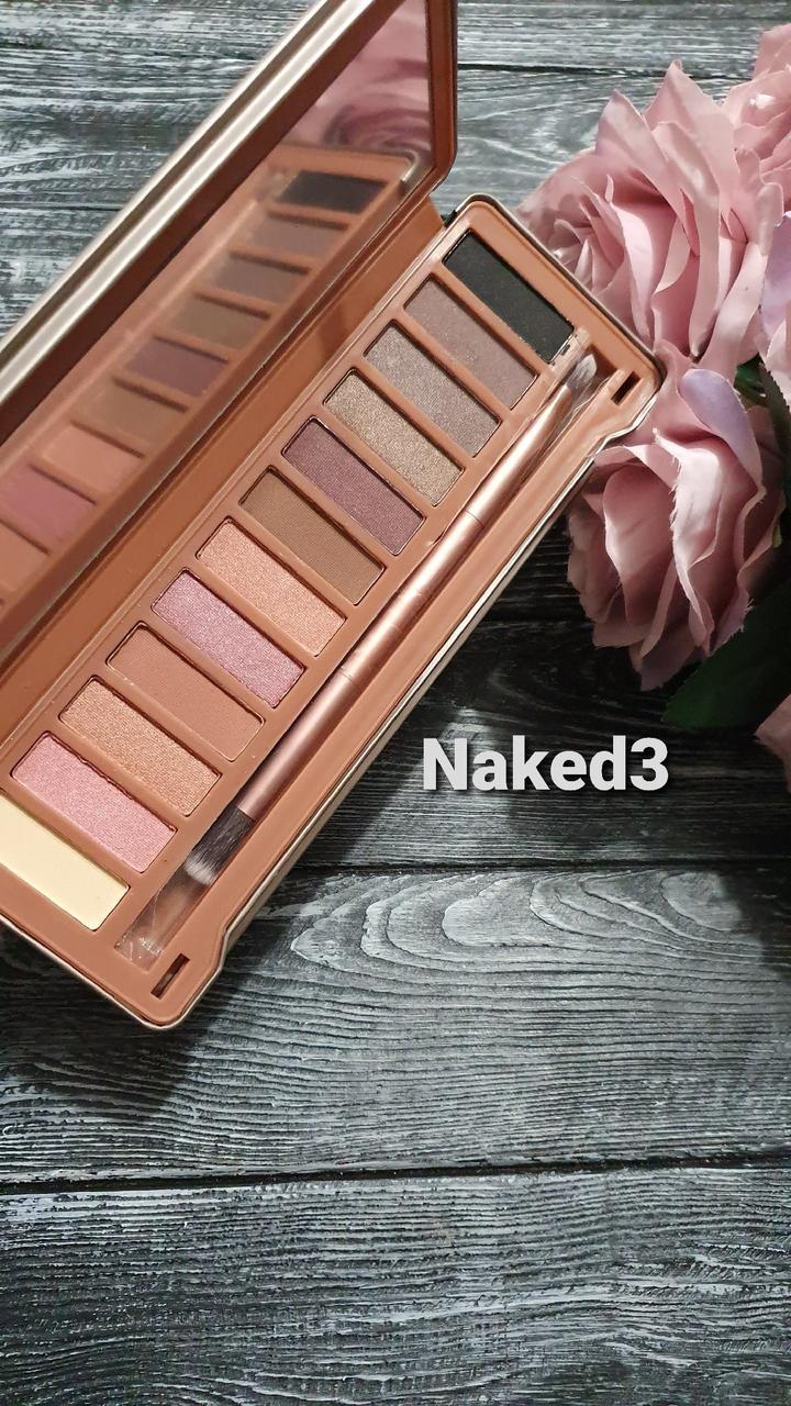 Тени для век Naked 3 Urban Decay