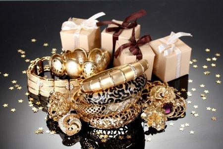 Ювелирные украшения (золотое покрытие)