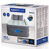 Надувная кровать со встроенным насосом Bestway 67622, фото 10