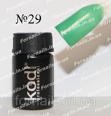 Гель-краска Kodi №29