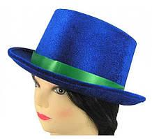 Шляпа для вечеринки синяя