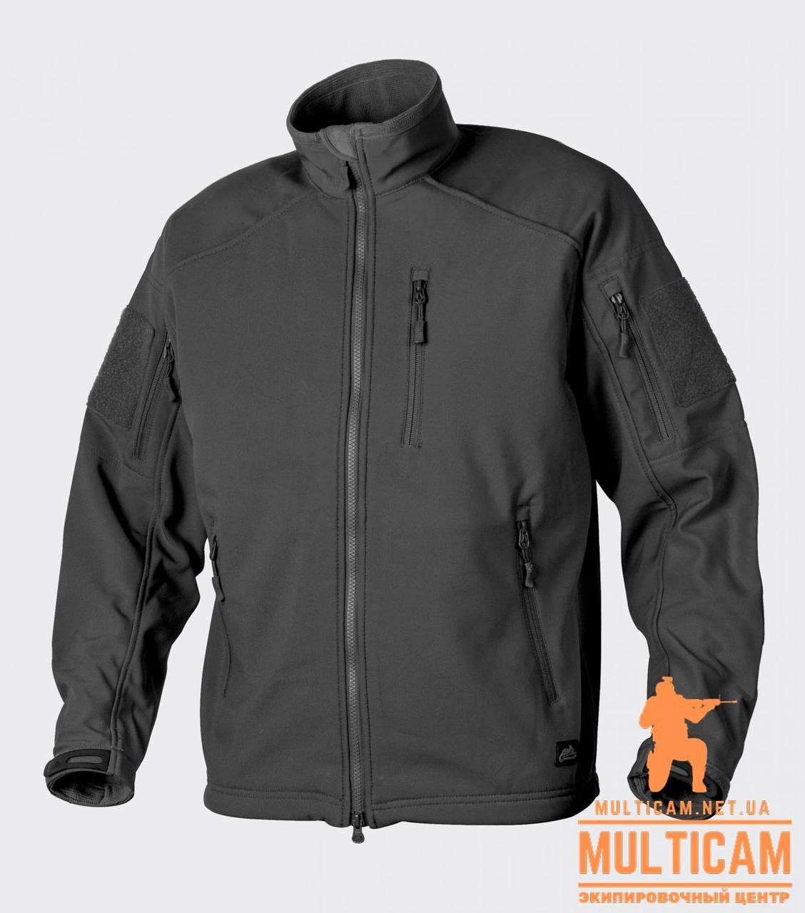 Куртка Soft Shell Helikon-Tex® Delta Tac Jacket - Black