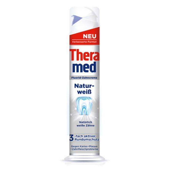 Зубна паста Theramed Natur Weiss відбілююча, 100мл