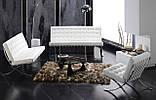 Диван Барселона 2-местный 160 см исскуственная кожа белый СДМ группа (бесплатная доставка), фото 3