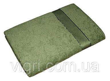 Рушник махровий Азербайджан, 50х90 див., зелене