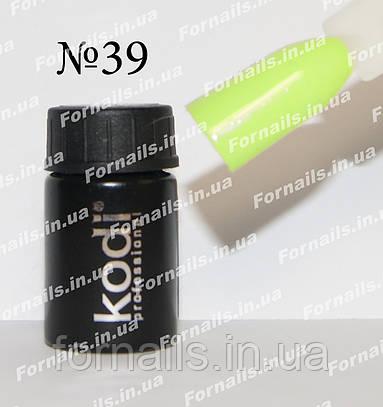 Гель-краска Kodi №39