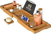 Столик для ванны ROYAL CRAFT WOOD Luxury, бамбуковый, фото 1
