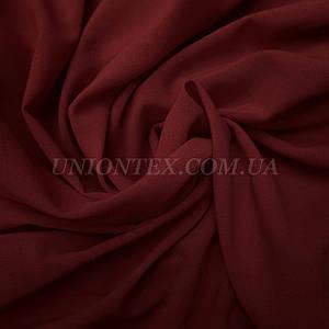Ткань креп-шифон бордовый