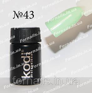 Гель-краска Kodi №43