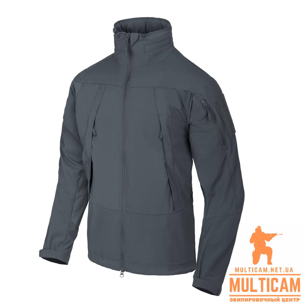 Куртка Soft Shell Helikon-Tex® BLIZZARD Jacket® - StormStretch® - Shadow Grey