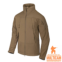 Куртка Soft Shell Helikon-Tex® BLIZZARD Jacket® - StormStretch® - Mud Brown