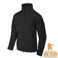 Куртка Soft Shell Helikon-Tex® BLIZZARD Jacket® - StormStretch® - Black