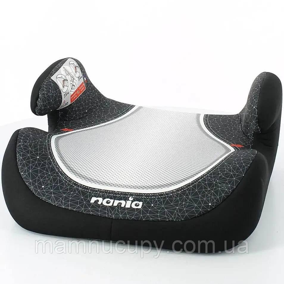 Детское автокресло бустер Nania Topo Comfort Black