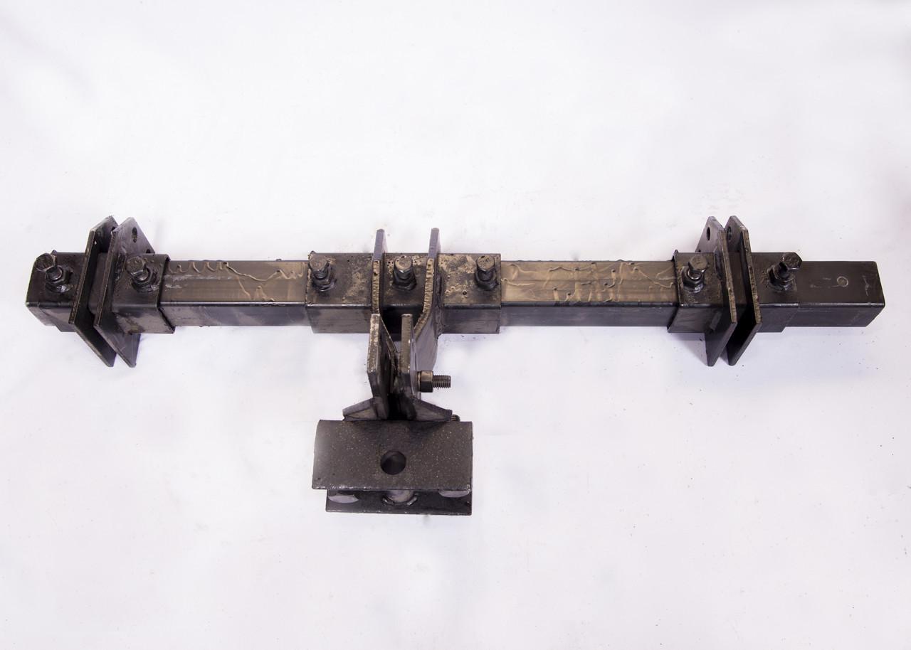 Сцепка двойная на сажалки (и ёжики) мотоблочная