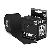 Тейп для тела, спорта, реабилитации, фигуры Kintex Classik 5см*5м, черный, Германия