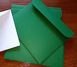 Конверт С6+ зеленый 120гр, фото 2
