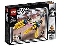 LEGO 75258 Star Wars - Гончий під Енакіна (Конструктор ЛегоГоночный под Энакина выпуск к 20-летнему юбилею)