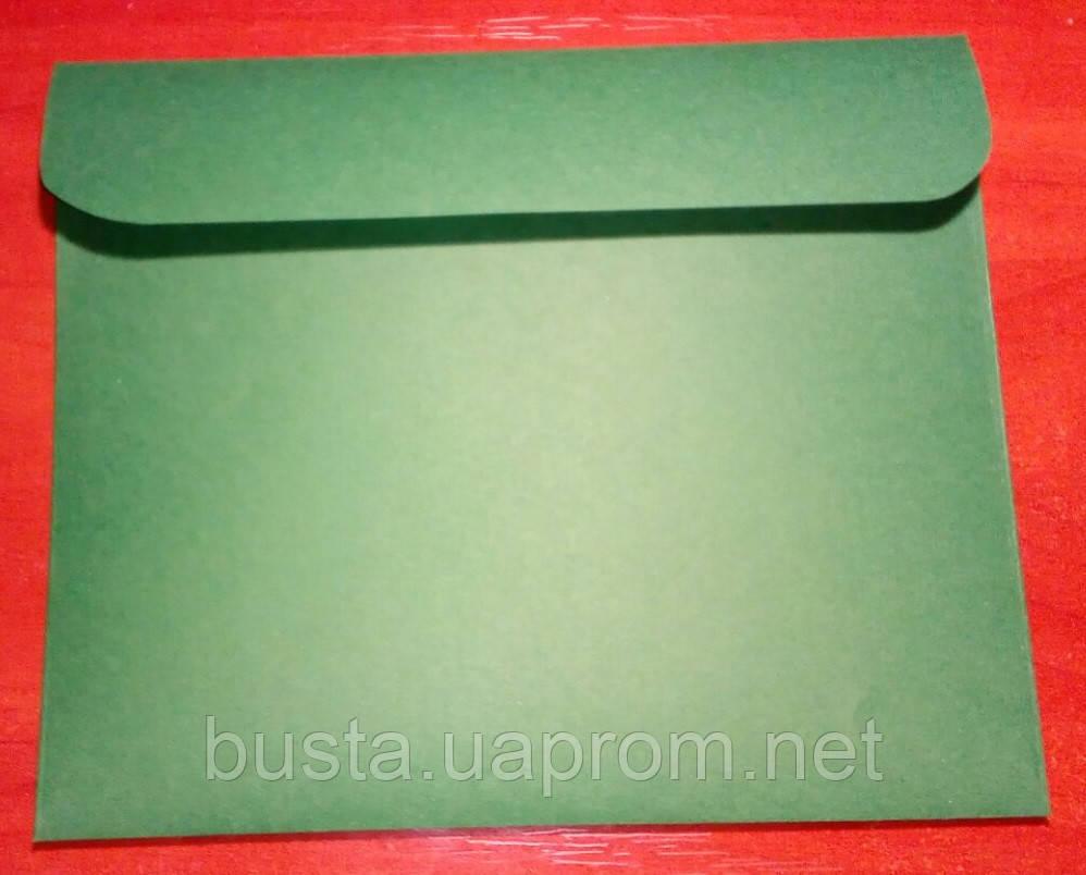 Конверт С6+ зеленый 120гр