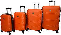Набір валіз Bonro 4 штуки Bonro 2019 оранжевий (10500201)