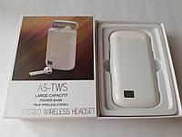 Беспроводные сенсорные наушники A5-TWS +павербанк