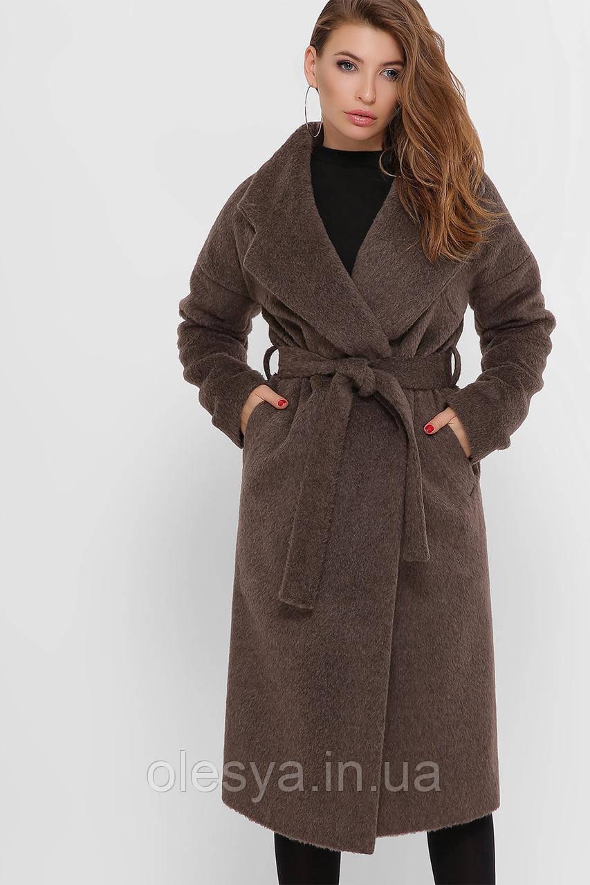 Женское шерстяное пальто ТМ Х-woyz Размеры 42 44 48