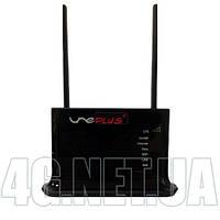 Мощный по приёму стационарный 4G/3G wifi роутер для симкарты с двумя выходами на наружную антенну Quanta Une