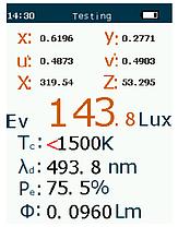 Спектрометр, люксметр, колориметр профессиональный PCE-CRM 40 (Германия), фото 3