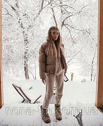 Куртка женская короткая дутая весенняя (Норма)