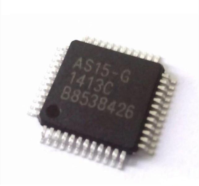 Мікросхема AS15-G, TFT-LCD 14+1 канальний гамма-буфер, AS15G, QFP48, гамма-коректор