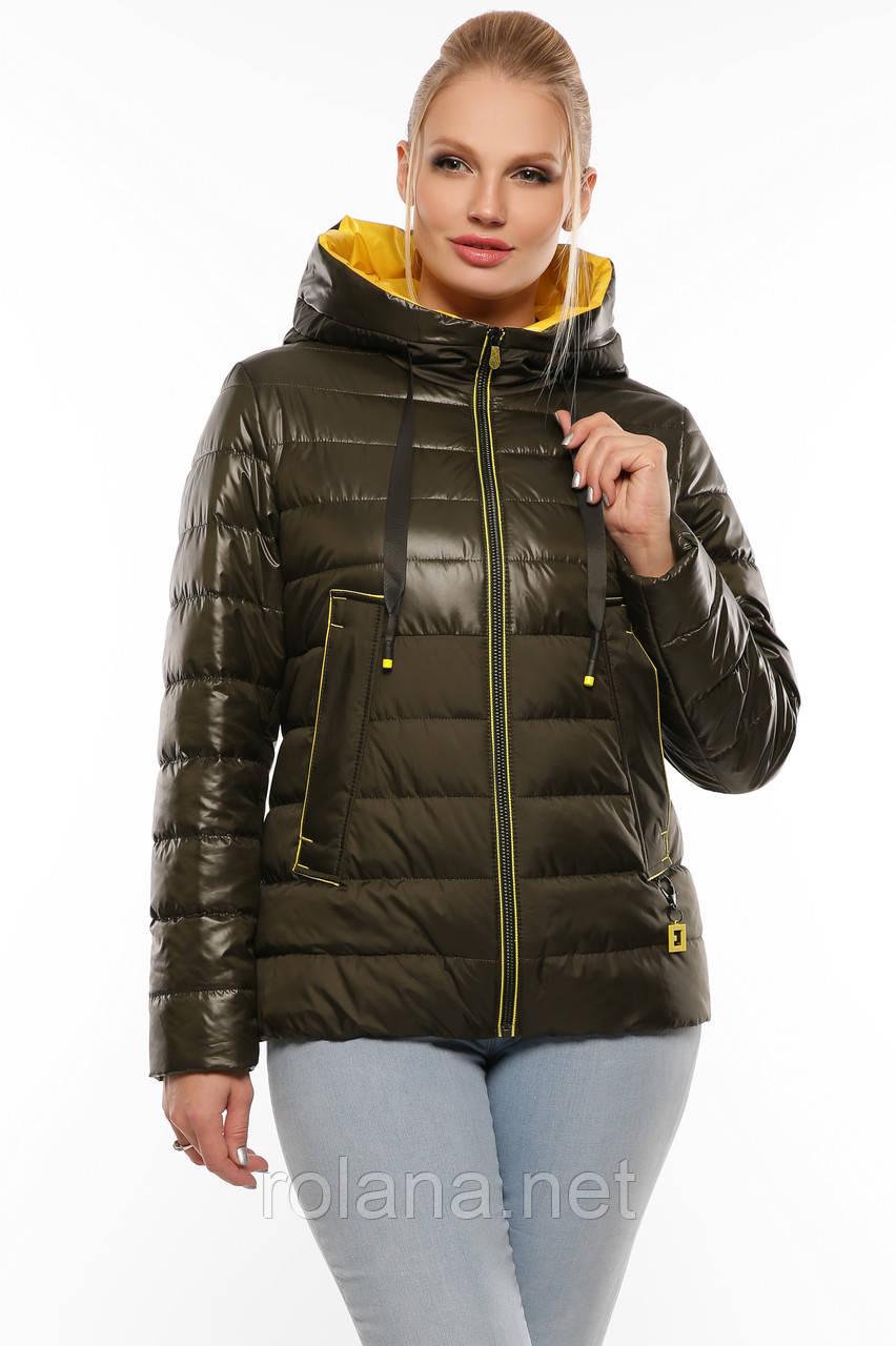 """Стильная демисезонная куртка. """"Хаки"""""""
