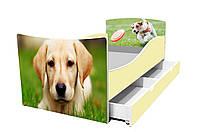 Детская кровать Щенок Лабрадор собака фокстерьер, фото 1