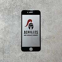 Захисне скло  iPhone 7 ACHILLES Full Glue Black