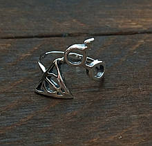 Кольцо серебряное Гарри Поттер и Дары Смерти КЦ-23 Б