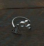 Кольцо серебряное Гарри Поттер и Дары Смерти КЦ-23 Б, фото 2