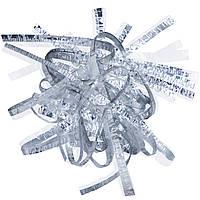 Бумага для Бумажного Шоу Серебряная Ламинированная узкая, фото 1
