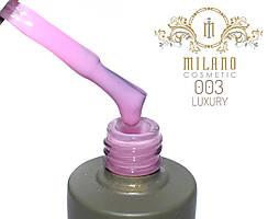 Гель лак Milano Luxury 15 мл №3