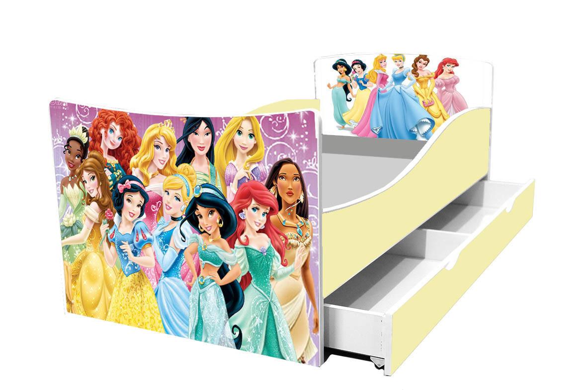 Детская кровать Принцессы Дисней