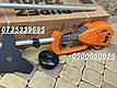 Аккумуляторная коса RUPEZ RST-40Li с АКБ и зарядным устройством., фото 7