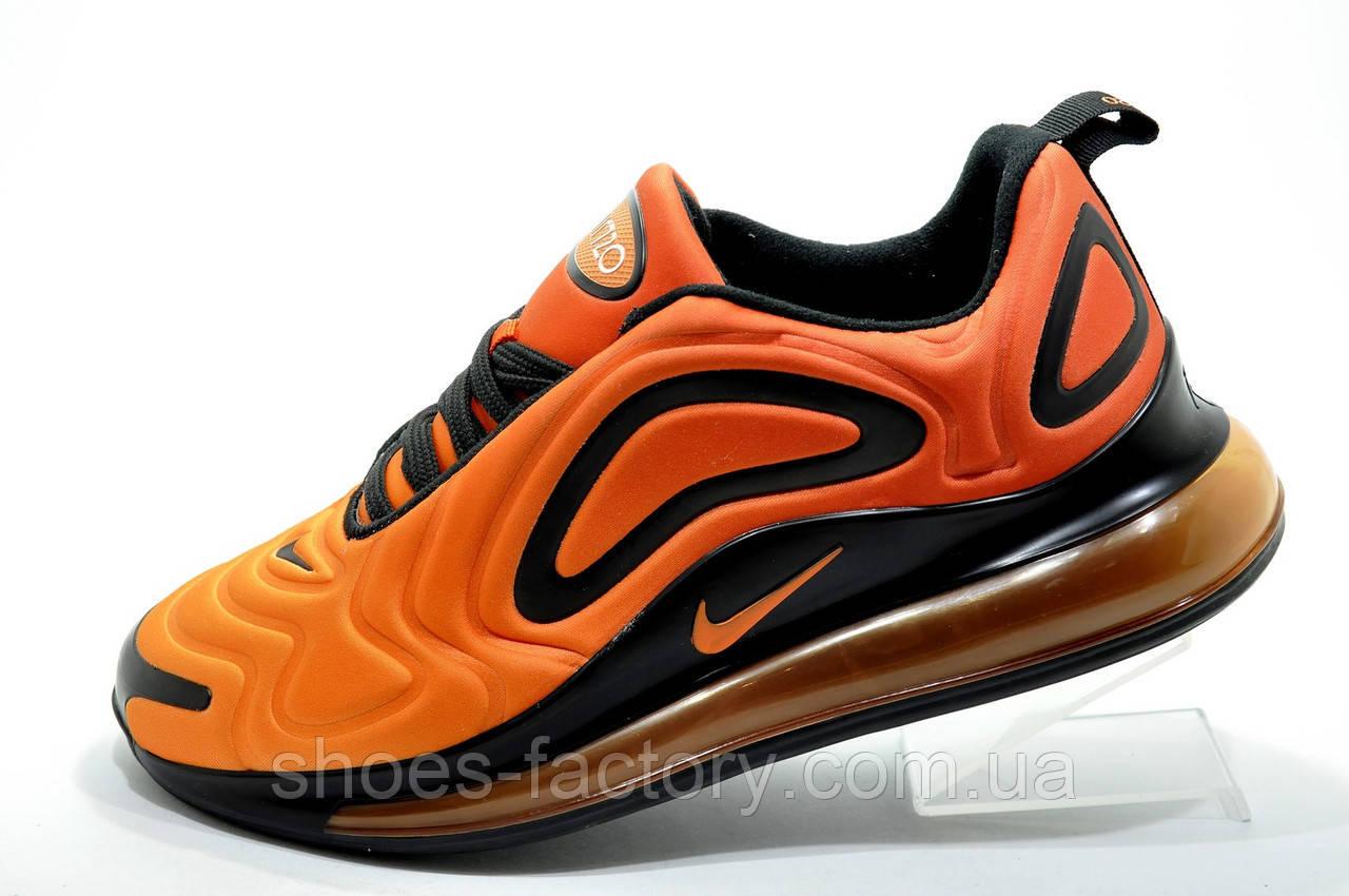 Мужские кроссовки в стиле Nike Air Max 720, Оранжевый/Чёрный